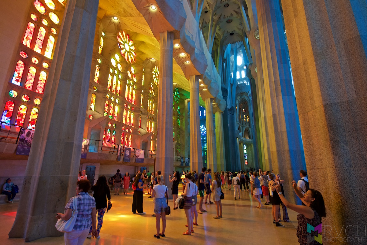 Spain - Barcelona - La Sagrada Familia